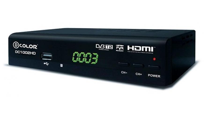 Ресиверы TV DVB-T2