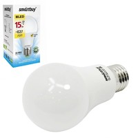 Светодиодная (LED) Лампа Smartbuy-A60-15W/3000/E27
