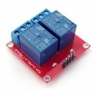 модуль 2-х контактного реле 12в