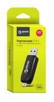 DREAM DRM-CR03 (USB Hub, TF карты)